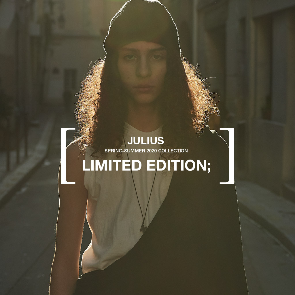 JULIUS OFFICIAL STORE [ LIMITED EDITION; ]